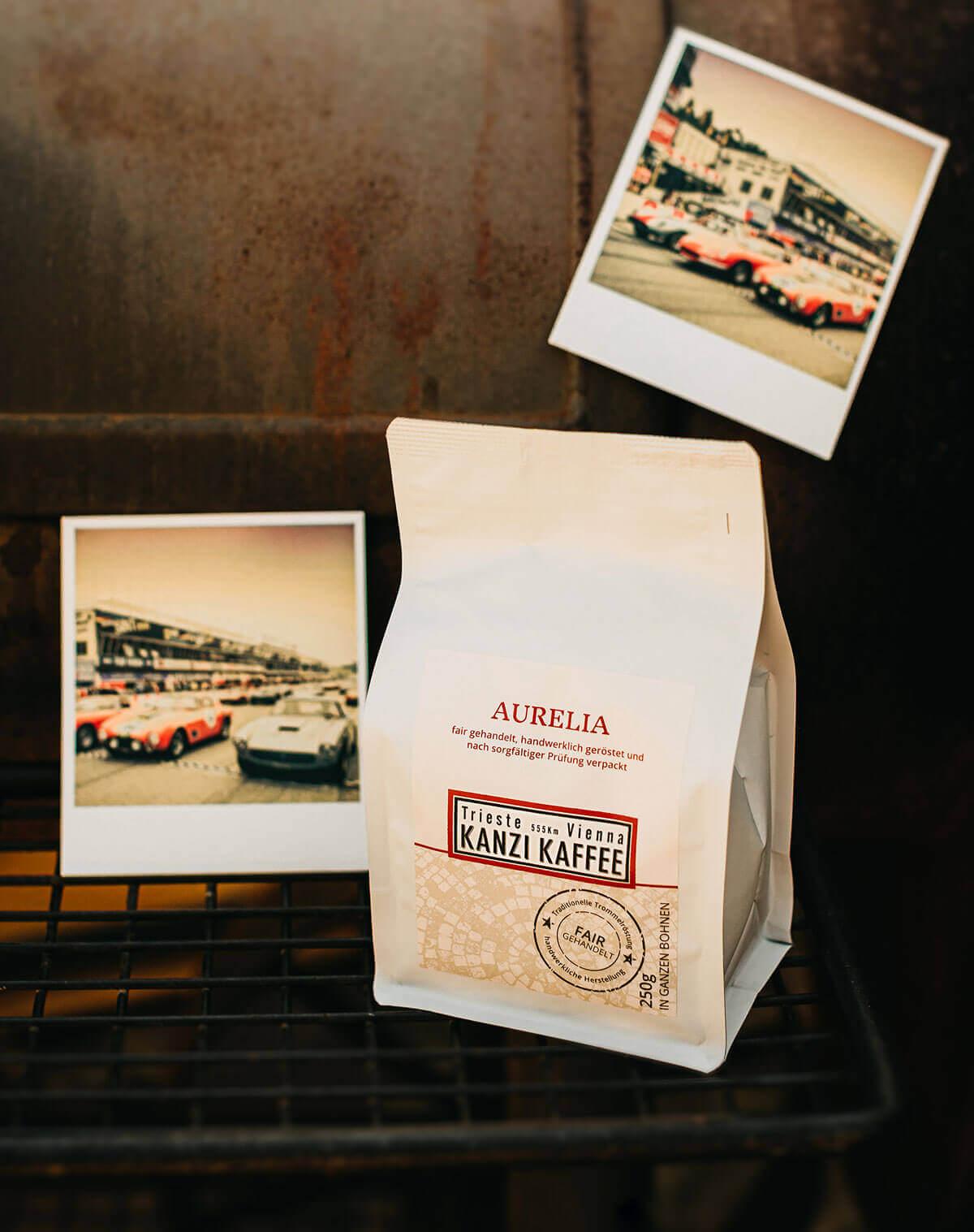<p style=text-align:center> AURELIA | Unsere KRÄFTIGE Kaffeeröstung</p>