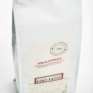 Kanzi Kaffee Packung ein Kilo mit Amalfitana Kaffee