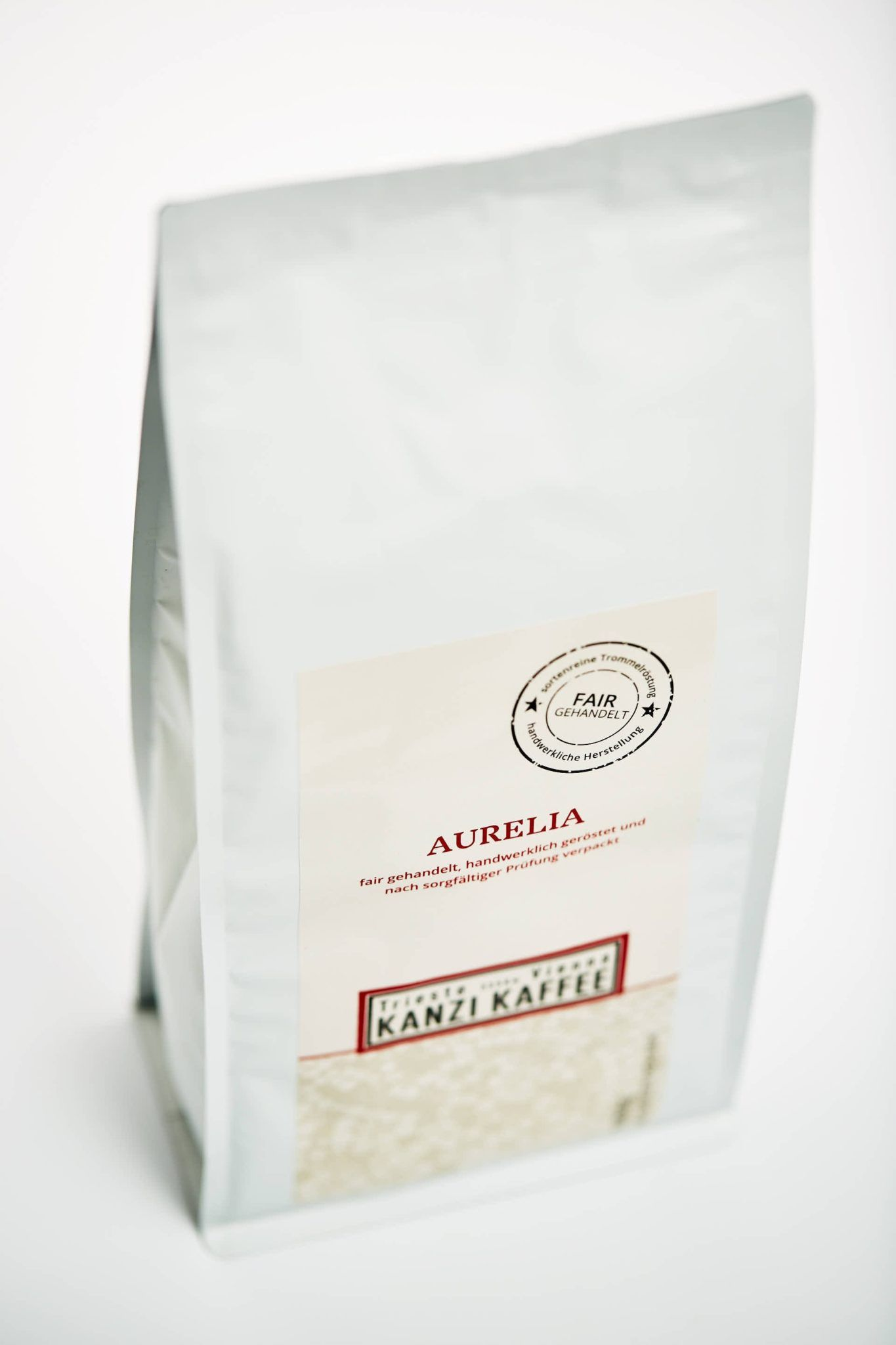 Kanzi Kaffee Beutel ein Kilo mit Aurelia Kaffee