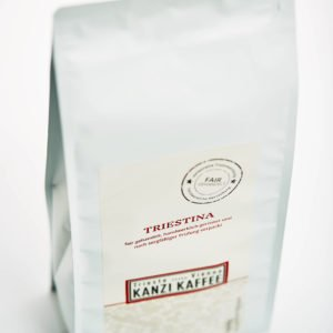 Kanzi Kaffee Beutel ein Kilo mit Triestina Kaffee
