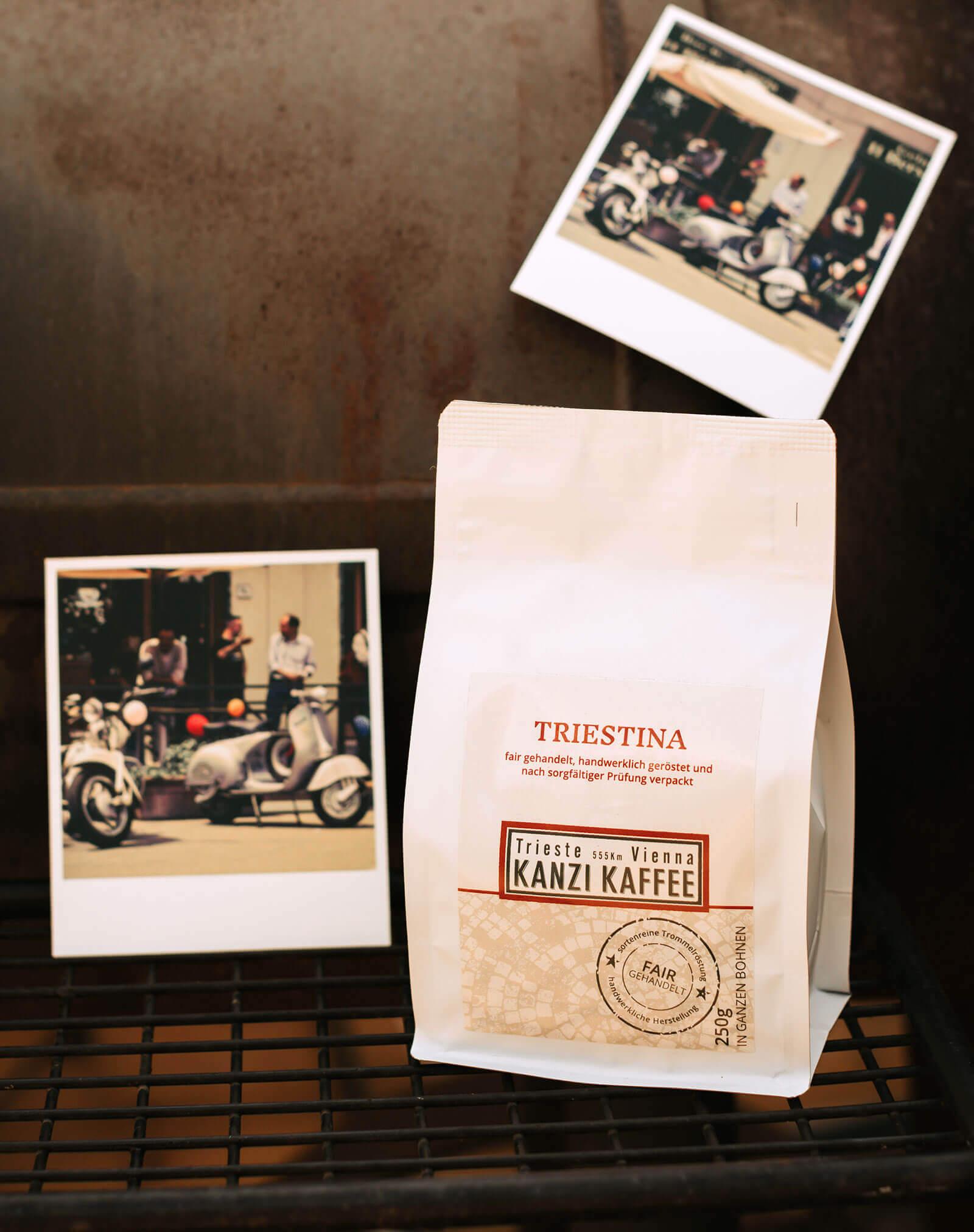 <p style=text-align:center> TRIESTINA | Unsere MILDE Kaffeeröstung</p>