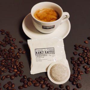 Kanzi Kaffee Cialde Pad Tasse Triestina Lungo1