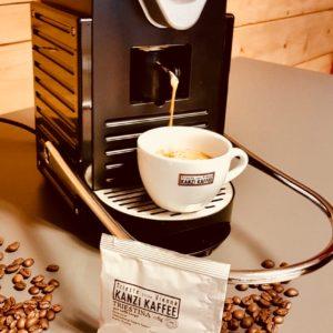 Kanzi Kaffee Cialde Pad Tasse MyPods Triestina Lungo2