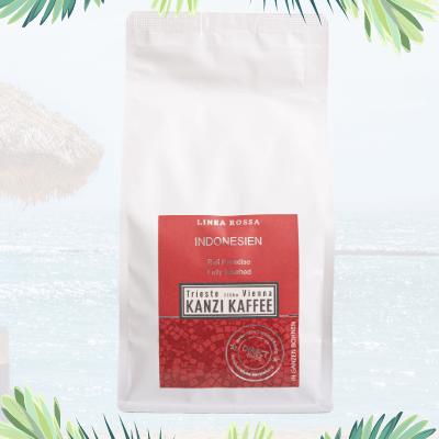 Bali Paradise Kaffee Verpackungsbild Kanzi Kaffee