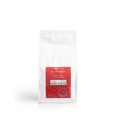 El Salvador aus der Linea Rossa von Kanzi Kaffee